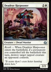 2x precisa harpunenschützin (Deadeye harpooner) Aether revolt Magic 							 							</span>