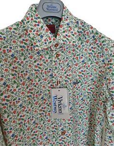 Mens-BNWT-VIVIENNE-WESTWOOD-long-sleeve-shirt-size-II-medium-RRP-275