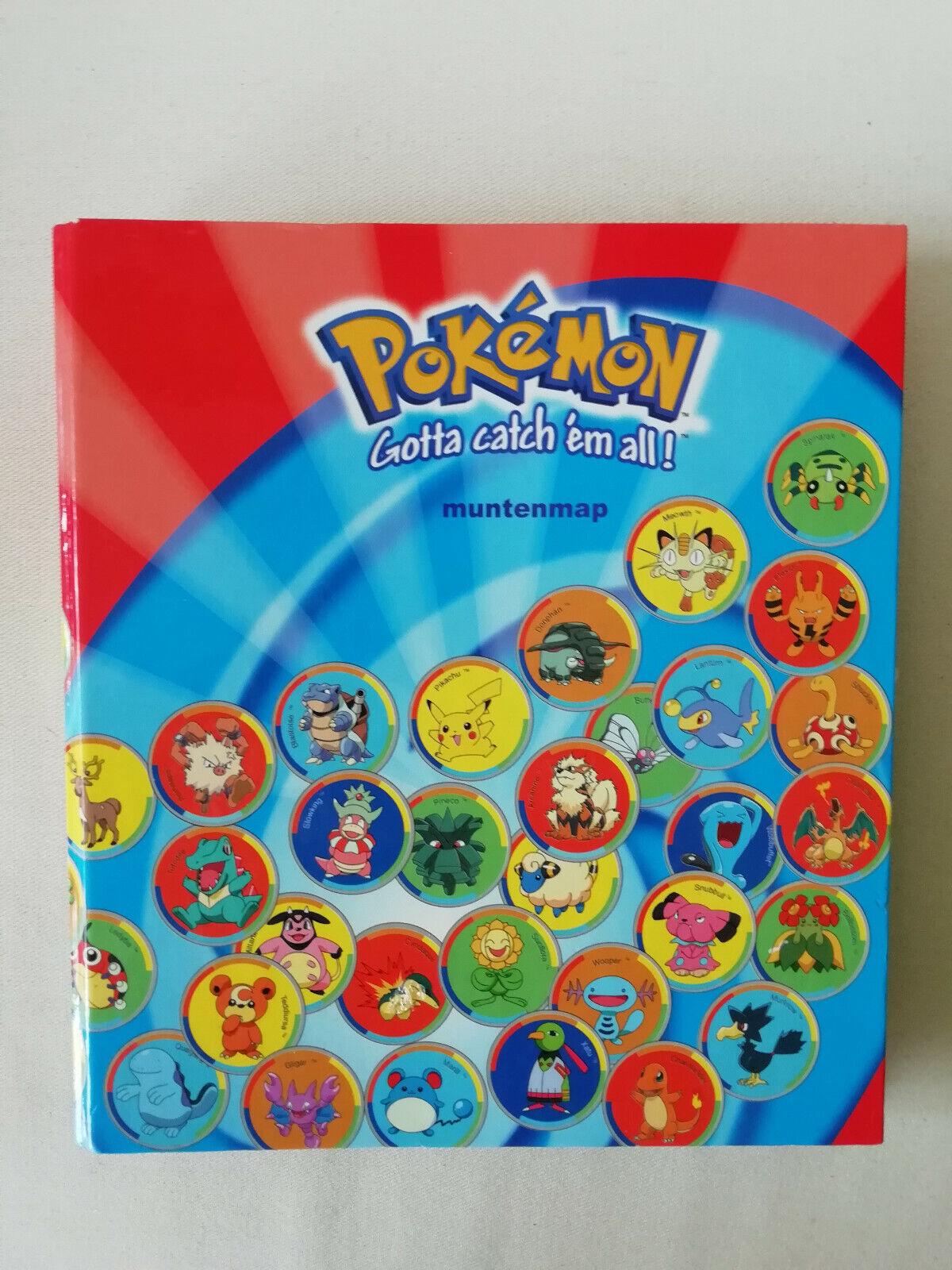 Pokemon pièces  jeu complet jouet collection FIGURES Metal TAZOS Pogs Battling coin  design simple et généreux