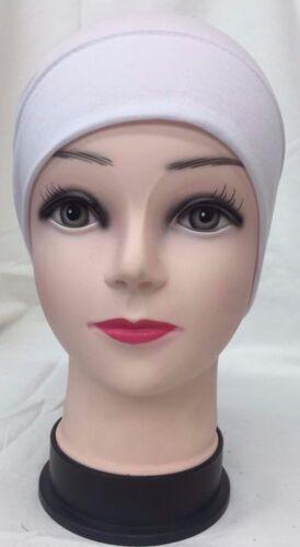 Under Scarf Bonnet Plain LACE TUBE TIE Cap Hat Hijab Head Scarf Choose Stlye