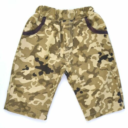 2pcs Toddler Baby Boys Gentleman Tie Blouse+Camouflage Shorts Summer Clothes Set