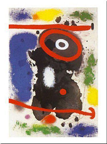 Head J Tete J by Joan Miro 20x16 Museum Art Print Poster