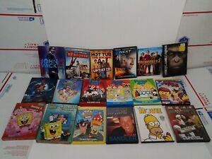 DVD-lot-John-Wick-Hangover-Spongebob-Anchor-Man-Next-Family-Guy-Planet-of-Apes