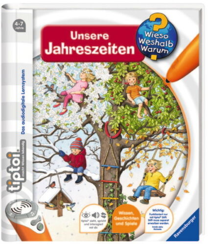 Warum Unsere Jahreszeiten 00657 Weshalb Ravensburger tiptoi Buch Wieso
