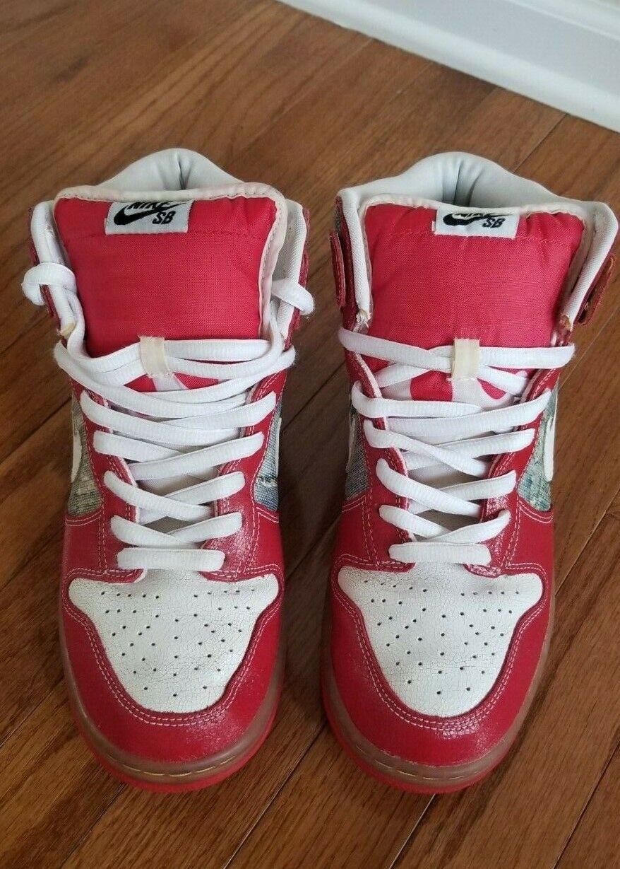 NIKE SB Dunk High shoes Goo 313171 012 Size 10
