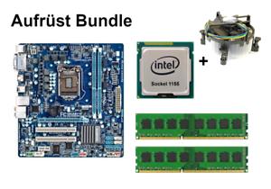 Bundle Gigabyte GA-HA65M-D2H-B3 + Intel Core i3 i5 i7 CPU + 4GB bis 16GB RAM