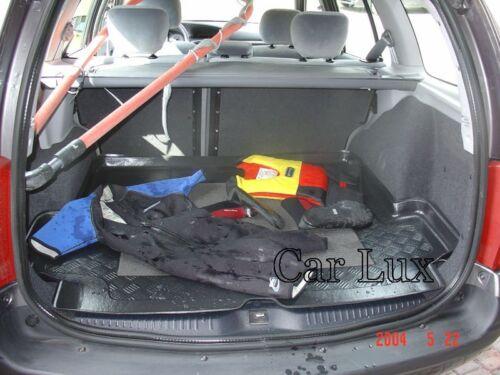 VW Touareg desde 2002-2010 Alfombra Cubeta maletero a meida con antideslizante