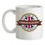 Made-in-Llanrheadr-Ym-Mochnant-Mug-Te-Caffe-Citta-Citta-Luogo-Casa miniatura 1