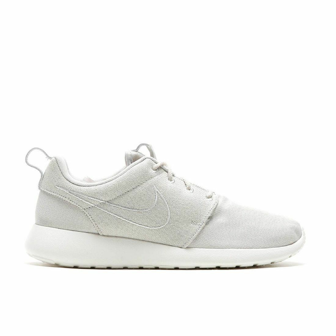 Nike Roshe One Premium Men's Shoes Light Bone/Light Bone Sail 525234 013 Size 8 Light Bone/Light Bone-Sail