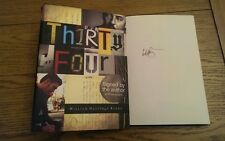 Thirty Four SIGNED William Hastings Burke (Hardback, 2009) 1st/1st Edition Book
