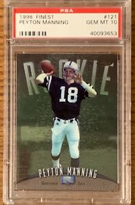 1998-Finest-Peyton-Manning-Rookie-Card-GEM-MINT-PSA-10-121