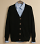 Mens-Cardigan-Cotton-Blend-Knitted-Sweater-Formal-Casual-V-Neck-Single-Breasted thumbnail 7