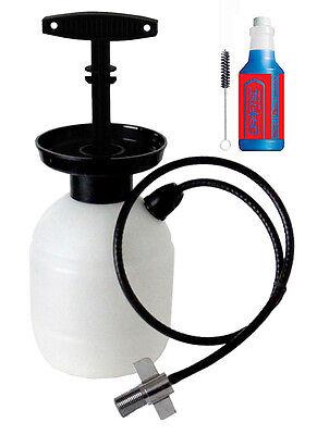 Deluxe Draft Beer Line Cleaning Kit Kegerator Hose Kit 1lb No-Rinse Powder