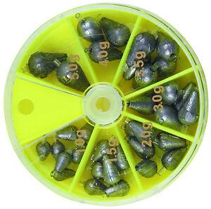 2-34-100-g-wettkampfblei-plombs-en-forme-de-poires-avec-siliconfuhrung-1G