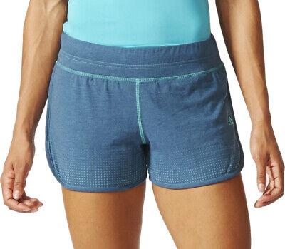 Diplomatisch Adidas Climacool Aeroknit Womens Running Shorts - Blue Feines Handwerk
