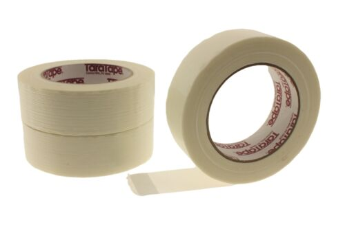"3x 1 1//2/"" Fiberglass Filament Tape 1.5 Reinforced Strapping Shipping Bundling 60"