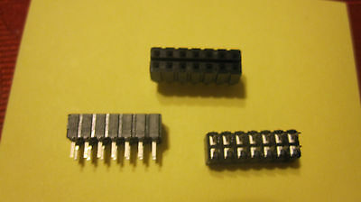 10Pcs 1X40 Pin 2.0MM Pitch Single Row Straight Pin Header Strip zn
