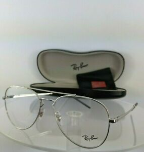 d501cd6cc913e Brand New Authentic Ray Ban Eyeglasses RB 6413 2501 56mm Silver ...