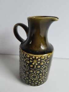 Connemara Celtic Ireland Small Pottery Jug Pitcher Creamer Vintage