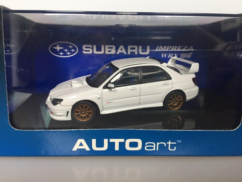 1 43 AUTOart Subaru Impreza WRX Sti 2006 58682