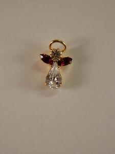 Austrian-Crystal-Birthstone-Angel-Lapel-Pin