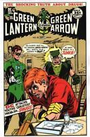 Neal Adams SIGNED Green Lantern #85 Arrow Drug Cover Art Print