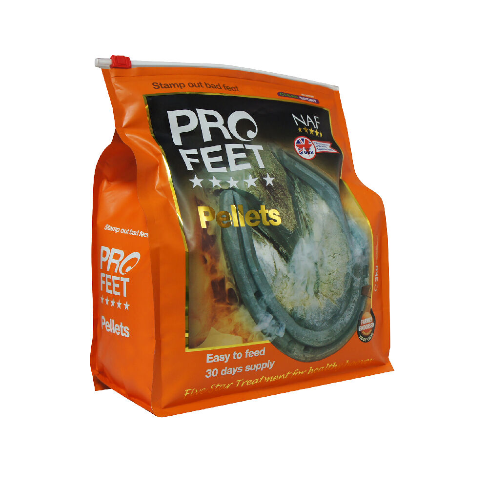 NAF PRO  FEET PELLETS  3kg + FREE UK Shipping  promotions