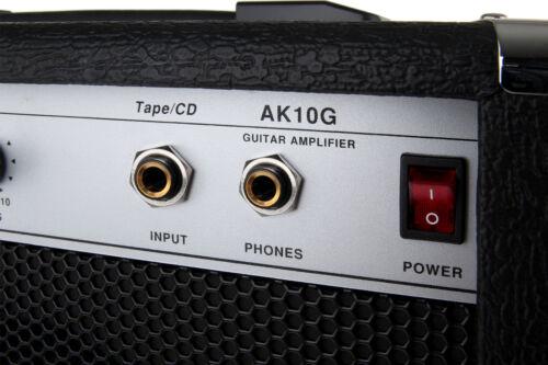 2-KANAL E-GITARRE VERSTÄRKER AMPLIFIER COMBO AMP OVERDRIVE CD TAPE AUX IN 30W