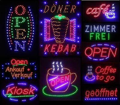 Döner Kebab LED Schild Leuchte Display Leuchtreklame Reklame XXL Leuchtschild