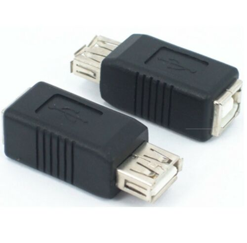 USB Type A Female to B Female Gender Changer Adapter
