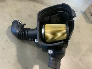 Used-Take-Off-2019-GT350-Mustang-Air-Intake-Box-Cold-Air-Inlet-Under-1000-Miles