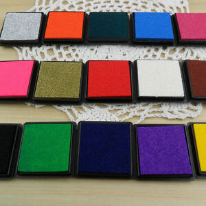 Hot-Color-Durable-DIY-Craft-Oil-Based-Ink-Pad-Print-For-Stamps-Rubber-Paper-Wood