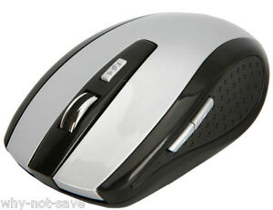 Gray Wireless Optical Mini mouse for Dell Toshiba Apple Chromebook Laptop  PC
