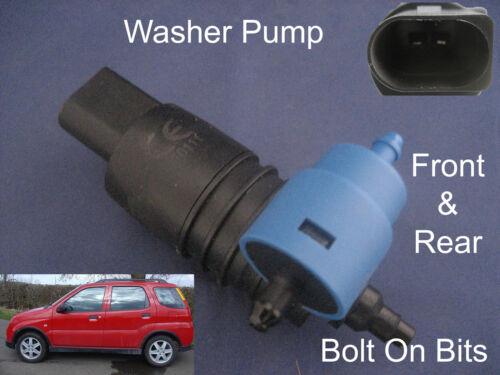 Front /& Rear Windscreen Washer Pump Suzuki Ignis 5 Dr 4x4 2003 2004 2005 2006