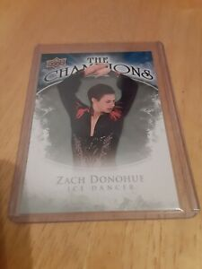 2009-10-Upper-Deck-Zach-Donahue-The-Champions-CH-ZD-Ice-Dancer-L-K