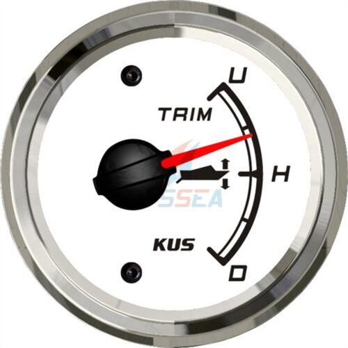 KUS Outboard Trim Gauge Marine Trim Tilt Indicator YAMAHA 0-190 ohms 52mm