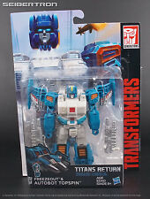 TOPSPIN + FREEZEOUT Transformers Titans Return Generations Deluxe 2017 Hasbro