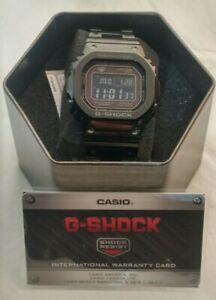 G-Shock-Mens-Solar-Digital-BLK-Stainless-Steel-Bracelet-Watch-GMW-B5000GD-1