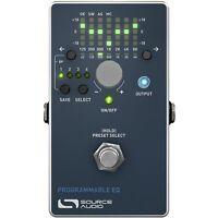 Source Audio Sa170 Programmable Eq Midi Guitar Bass Dsp Effect Fx Stompbox Pedal