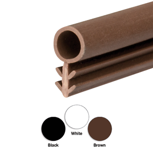 Image is loading Timber-Wooden-Window-Frame-Gasket-Door-Seal-Rubber-  sc 1 st  eBay & Timber Wooden Window Frame Gasket Door Seal Rubber Brown Black or ...