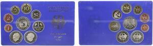 Curso Conjunto Bundesrepublik Alemania 1977 Para 1Pf. Hasta 5 DM Pp 55961
