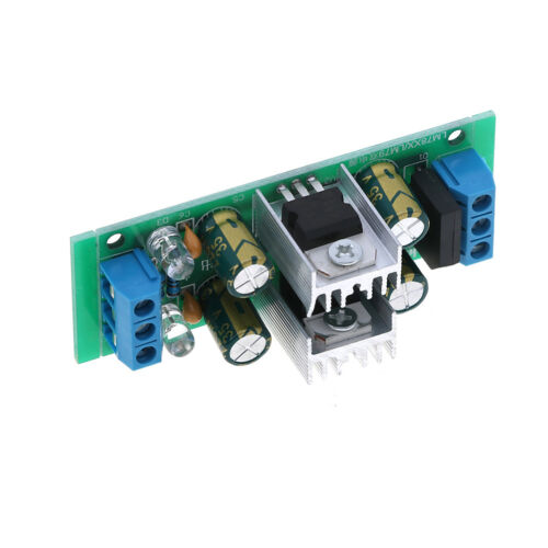 LM7815+LM7915±15V dual voltage regulator rectifier bridge power supply module IJ