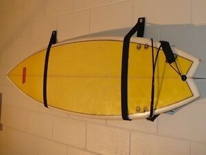 Image Is Loading Surfboard Storage Sling Snowboard Wall Straps