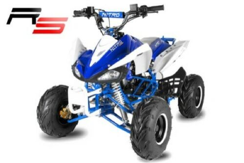 SPEEDY RG7 RS 125ccm Automatik 7 Zoll & RG