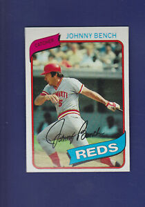 Johnny-Bench-HOF-1980-TOPPS-Baseball-100-MINT-Cincinnati-Reds
