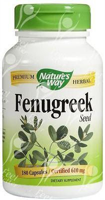 Fenugreek Seed 610mg x180caps - BREAST MILK PRODUCTION