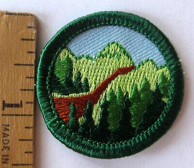 Girl Scout Junior 1980-2001 HIKER BADGE Walking Hiking Exercise Rocks Patch