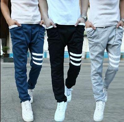 Fashion Mens Sports Gym Jogger Dance Slacks Harem Baggy Sweatpants GREAT PRICE