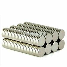 20 100x Big Super Strong Round Magnets Rare Earth Neodymium N35 Lwsvpmt