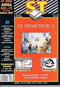 DéTerminé St Magazine N°41 Juin 1990 : Le Redacteur 3 La Qualité D'Abord